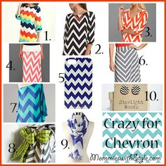 Crazy for Chevron | Mommies with Style