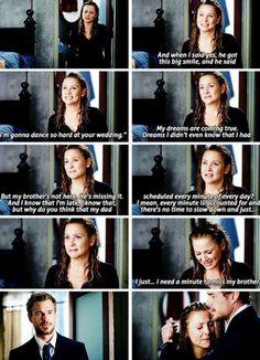 Grey's anatomy one of my favorite Arizona Robbins' scenes