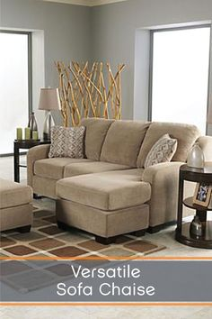 Superior A Moveable Ottoman Style Base And Reversible Seat Cushion Design Allow You  To Enjoy The. Small Living SpacesComfortable SofaSeat ... Photo Gallery