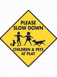 Caution Stay Back 100 Feet SLAP-STICKZ™ Premium Laminated Sticker Sign