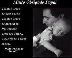 Obrigada PAI! ♥