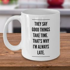 Quotes for him birthday coffee mugs 31 ideas Funny Coffee Mugs, Coffee Humor, Funny Mugs, Dad Quotes, Quotes For Him, Funny Quotes, Thoughtful Gifts For Him, Gifts For Her, Birthday Quotes For Her