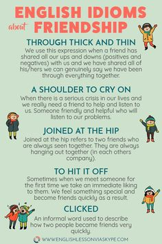 Expressions about Friendship Englsh Idioms about Friendship.Englsh Idioms about Friendship. English Writing Skills, Learn English Grammar, English Vocabulary Words, Learn English Words, English Phrases, English Idioms, English Language Learning, English Lessons, Teaching English