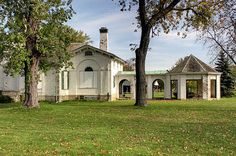 Bellevue House | This house is located in Amherstburg Ontari… | Flickr Bellevue House, Country School, Local Museums, Georgian Architecture, Old Churches, Lake Erie, Most Beautiful Cities, Historical Sites, Abandoned Places