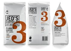 Jeds Coffee Co.   Packaging of the World: Creative Package Design Archive and Gallery