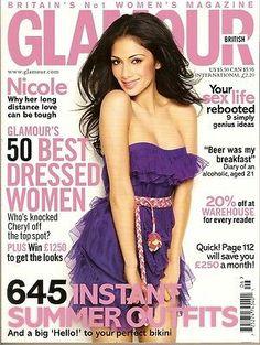 Nicole Scherzinger For Glamour Magazine UK June 2011 Glamour Magazine Uk, Glamour Uk, British Magazines, Holiday Wardrobe, Cheryl Cole, Tough Love, Nicole Scherzinger, Covergirl, Nice Dresses