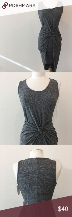 Grey The Vanity Room Body-con NWT gorgeous The Vanity Room Dress! Love the detailing and front tie on this number. Ask all questions prior to purchase •  bundle to save •  willing to consider any reasonable offer  <3 Dresses