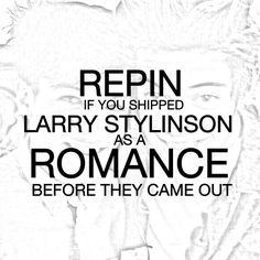 Its rumored that Larry will come out in February so I felt like we needed this so we could find each other.  Repin!!!