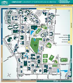 Unc Wilmington Campus Map Plans Campus Pinterest