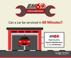 Because we know that you want the service option that best suits your lifestyle. Call us for more details 1800-200-3150. #GlobeToyota #EM60