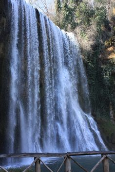 cascada-caprichosa., Parque Monasterio de Piedra, Nuévalos, Zaragoza, España