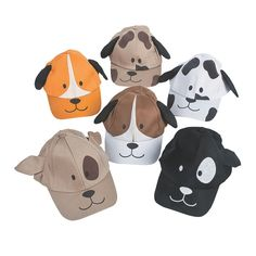 Dog Baseball Caps Assortment