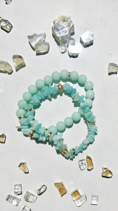 A personal favorite from my Etsy shop https://www.etsy.com/listing/611511511/turquoise-women-bracelet-gold-turquoise