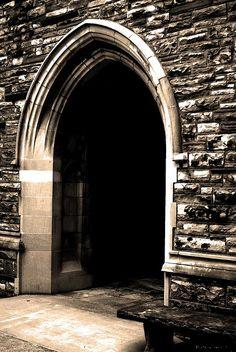 Gothic arch door
