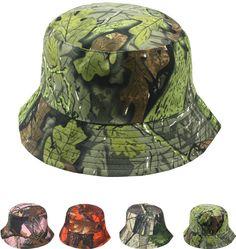 real tree camouflage women's bucket hat Case of 72