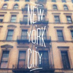 New York City by Charlene Sepentzis, via Behance