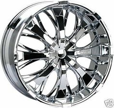 20 Inch Chrome Wheels | photos not available for this variation