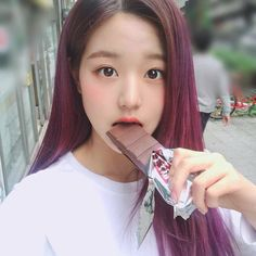 (Credits to the real owner/s) Cute Korean Girl, Asian Girl, Selfies, Jang Wooyoung, Beautiful Young Lady, Woo Young, Japanese Girl Group, Ulzzang Girl, Kpop Girls