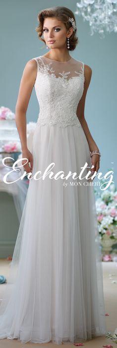 Enchanting by Mon Cheri Spring 2016 ~Style No. 116124 #tulleweddingdress