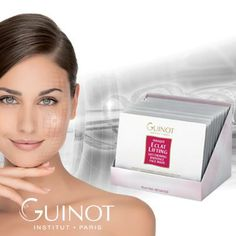 GUINOT INNOVATION PRO-COLLAGEN Lift Firming Radiance Face / neck mask Spectacular boost of lift and radiance in 10 minutes. in firmness after only one application. More than just a mask, it acts as a serum. Available at Cedarhurst Salon & Spa Beauty News, Collagen, Serum, Salons, Innovation, Spa, Skin Care, Nails, Face