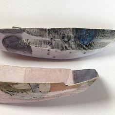 Jill Walker - Ceramic Boats