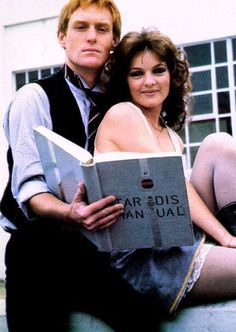 Vislor Turlough and Nyssa of Traken - companions of the 5th Doctor.