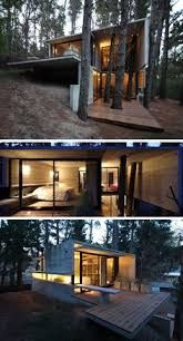 split level house steep site - Google Search