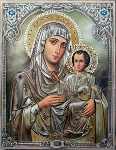 Byzantine Icons, Orthodox Christianity, Religious Icons, Blessed Mother, Princess Zelda, Disney Princess, Mother Mary, Virgin Mary, Madonna