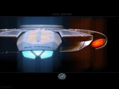 USS Defiant (NX-74205) forward elevation