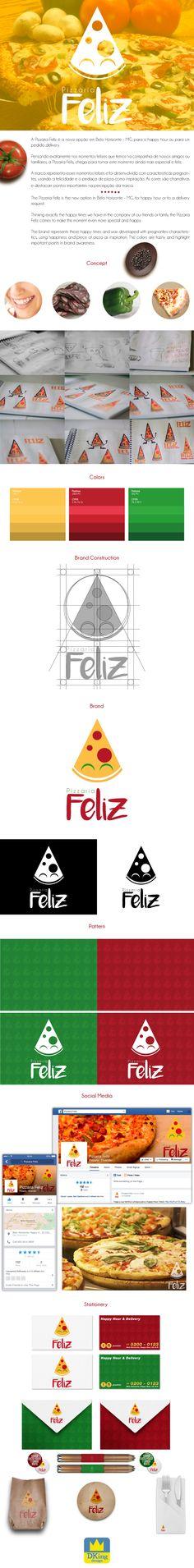 Pizzaria Feliz | Brand