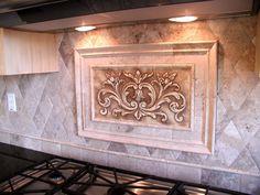 kitchen backsplash centerpiece Decorative Backsplash Tiles