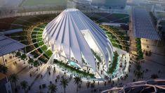 Expo 2020 Dubai Pavilions and Architecture,UAE Pavilion. Image Courtesy of Santiago Calatrava Santiago Calatrava, Architecture Design, Amazing Architecture, Contemporary Architecture, Public Architecture, Creative Architecture, Futuristic Architecture, Interior Design Dubai, Interior Design Career