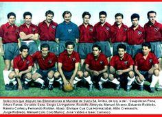 Selección Chilena - Eliminatorias Mundial 1954