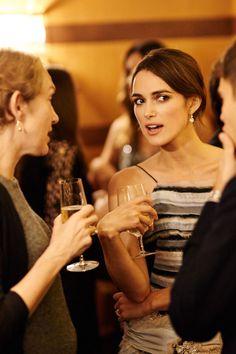 Harper's Bazaar dinner party to celebrate The Imitation Game | Harper's Bazaar