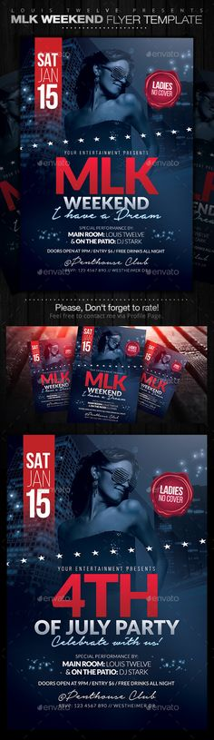 free memorial day flyers templates