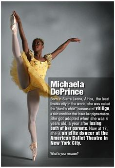 Michaela DePrince - Inspirational.