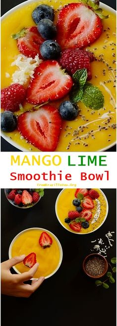 1000+ images about Smoothies on Pinterest | Smoothie bowl, Smoothie ...