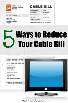Are you paying too much for cable? Check out 5 ways to reduce your cable bill.