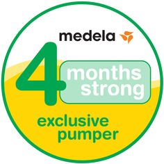 CONGRATULATIONS on meeting your goal of exclusively pumping for 4 months strong! Click through to see how real Medela families are getting through it all.