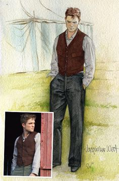Water For Elephants Costume Illustrations As great as digital rendering is, you can't recreate the softness and emotion of a hand-drawn illustration.