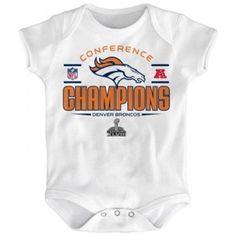Denver Broncos Superbowl Baby Tee, Creeper, Onesie 6M, 12M, 18M, 24M