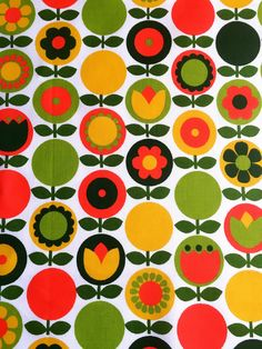 A personal favourite from my Etsy shop https://www.etsy.com/se-en/listing/508201168/60s-mod-swedish-vintage-fabric-with-a