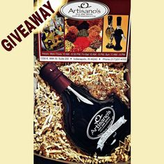 ONLY 3 DAYS LEFT TO ENER!! WIN A BOTTLE OF OUR EXCLUSIVE LIMITED EDITION BLACK CHERRY BOURBON BALSAMIC VINEGAR! ($30 value)  Here's how to enter:  Must be following us. @artisanosoils Must Like & Repost this pic and tag us. #artisanosgiveaway  For a little extra spice tag up to 5 friends below in the comments for additional entries! (Post must be public for us to see it.) U.S. Entries only!  Ends JAN 31st!  #foodie #food #cooking #bourbon #giveaway #valentine #contest #indianapolis #naptown…