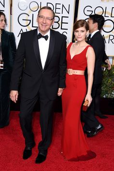 Red Carpet Review: Golden Globes Luxe Awards   Kate Mara in Miu Miu   The Luxe Lookbook