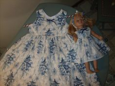 Build-A-Dress for Girl and Doll Choose by TeenyTinyTailorShop