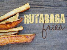 Rutabaga Fries #glutenfree #vegan #paleo