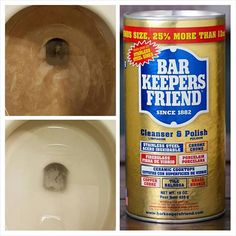 Learn how to use Bar Keepers Friend to clean rust, hard water stains, etc. from your bathroom sink, bathtub, shower head, and faucets.