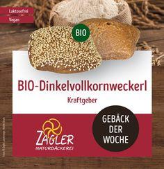 Vital ins neue Jahr 2020 starten! 🚴🏻♂️🤸🏼♂️⛹️♀️ Wir empfehlen dafür unsere laktosefreien & veganen  Bio-Dinkelvollkornweckerl 👨🔧🌾 -  der ideale Kraftgeber zum Frühstück. ⏰  #Bio #biofrühstück #bioweckerl #gebäckderwoche  #zagler #zaglerbäckerei #naturbäckerei #naturbackstube #bäckerei #backenmachtglücklich #brotzeit Vegan, Bread, Food, Brot, Essen, Baking, Meals, Breads, Vegans