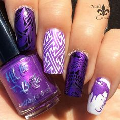 Nails by Cassis: Hit The Bottle Stamping Polish Review (Pic Heavy!)
