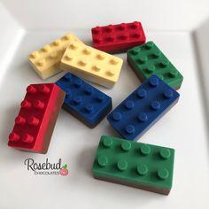 #chocolate #lego #legos #party #favors #candy #buildingblock #bricks #birthday #wedding #primarycolors